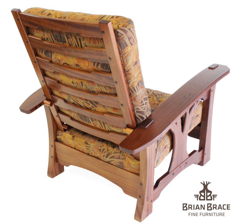 This Is The Newest Morris Chair I Released At The 30th Arts And Crafts  Conference At The Grove Park Inn. It Is Made Out Of Sapele And Ebony With A  Dye Stain ...